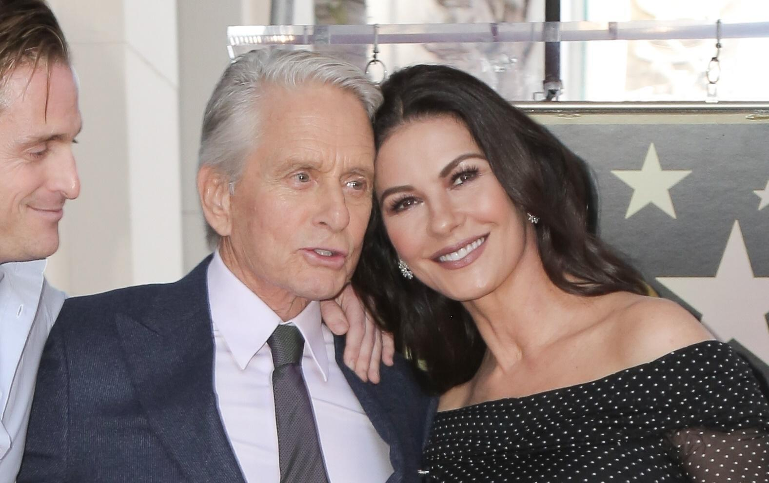 Pictures of michael douglas and wife — 15