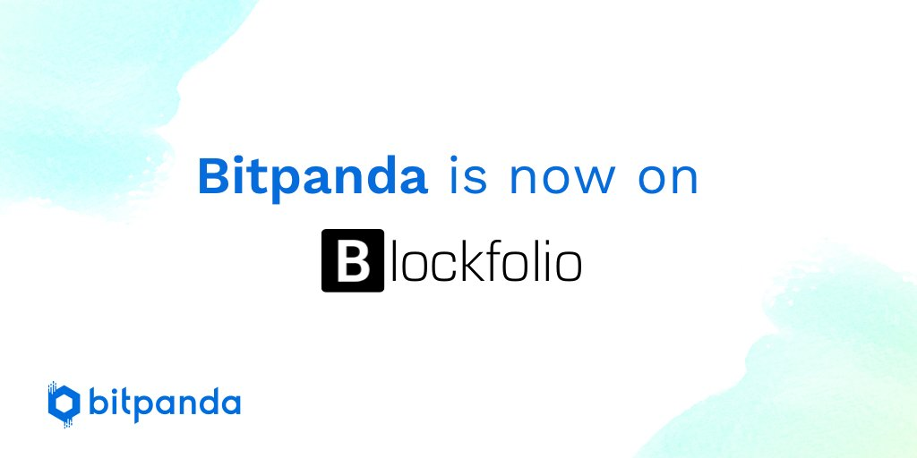 We're happy to announce that Bitpanda is now listed on @blockfolio and you can monitor your Bitpanda portfolio #bitpanda #blockfolio