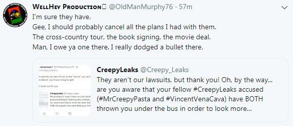 CreepyLeaks on Twitter: