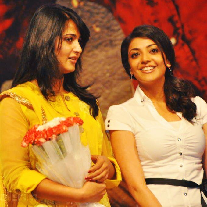 Wishing the beautiful and talented #AnushkaShetty a Very Happy Birthday 🎂🎉 Behalf of @MsKajalAggarwal Fans. Have a wonderful year ahead..:) #HBDAnushkaShetty #HappyBirthdayAnushkaShetty