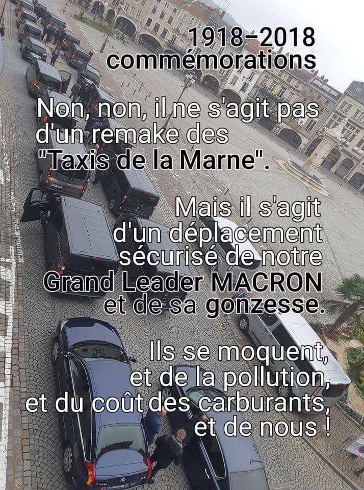 Itinéraire d'un enfant gâté - Le convoi de Macron DrYflsVX4AIUBRs