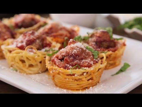 How to Make Spaghetti and Meatballs Muffin Bites | Appetizer Recipes | AllRecipes https://t.co/MtbqHCG7Ib https://t.co/9iySWJzVpp