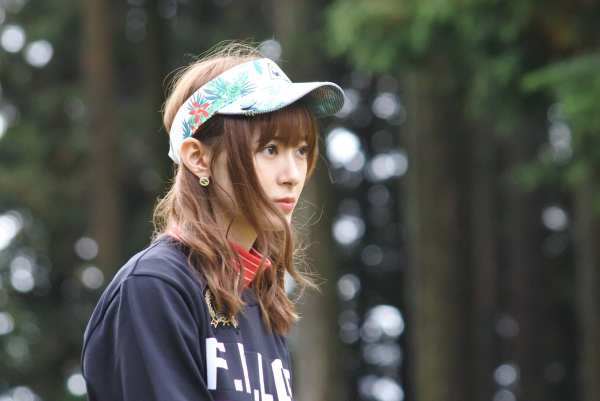生田衣梨奈さん、ゴルフのプロアマ大会に出場しヲタク達が撮影した写真が美しくてご満悦の様子