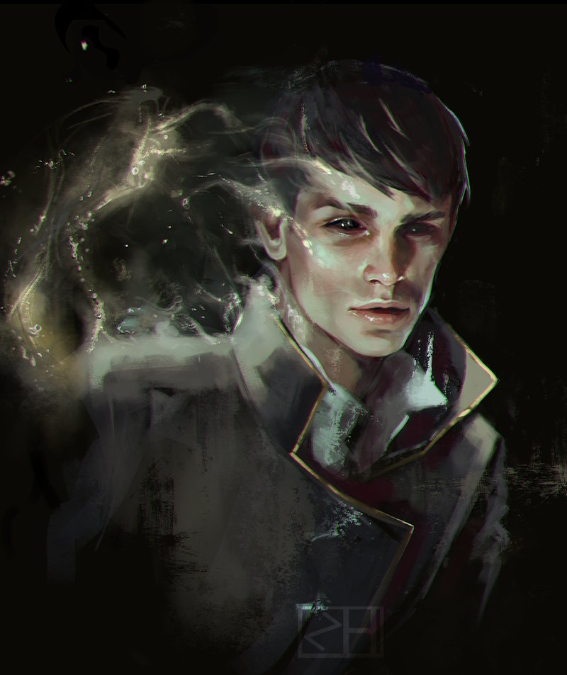 Bethesda On Twitter Fan Art Of The Outsider From Dishonored