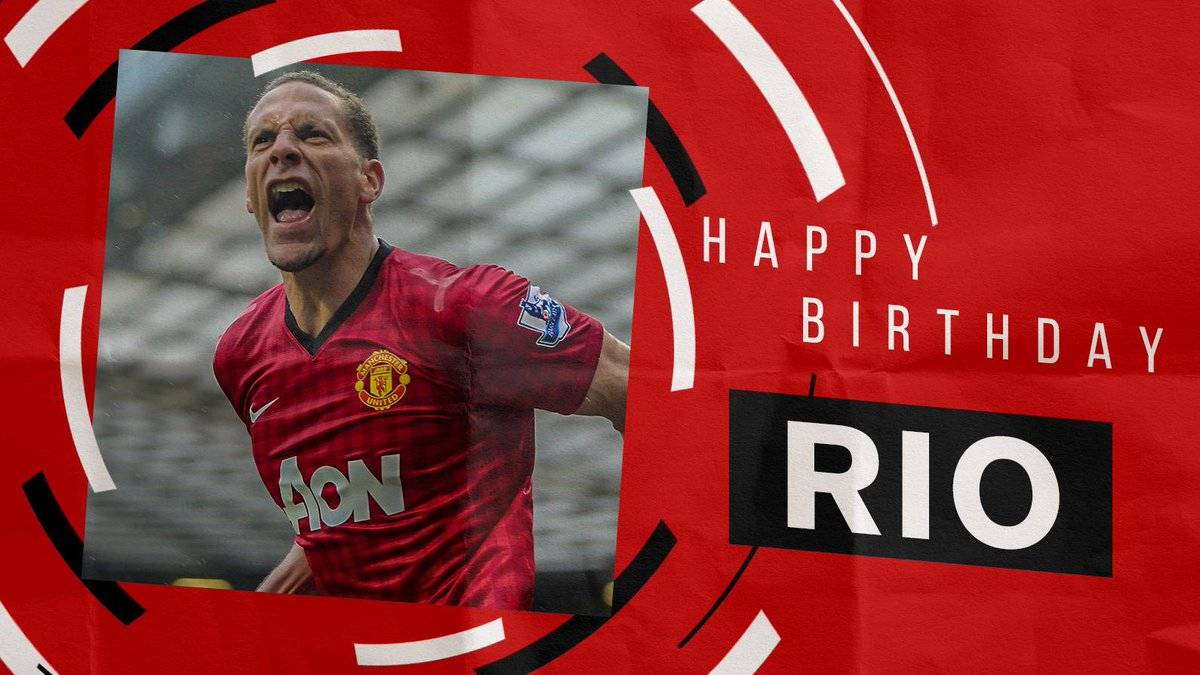 Best wishes to #MUFC legend @RioFerdy5 on his birthday! 🎉