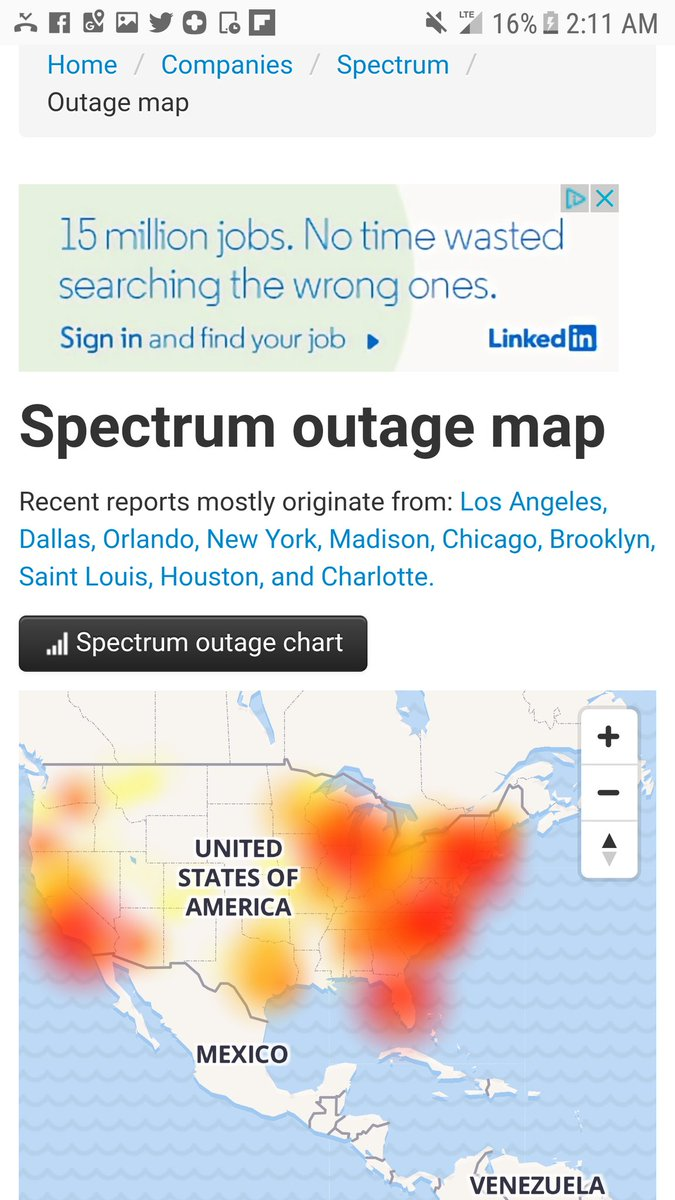 By Photo Congress || Spectrum Internet Outage Today Dallas