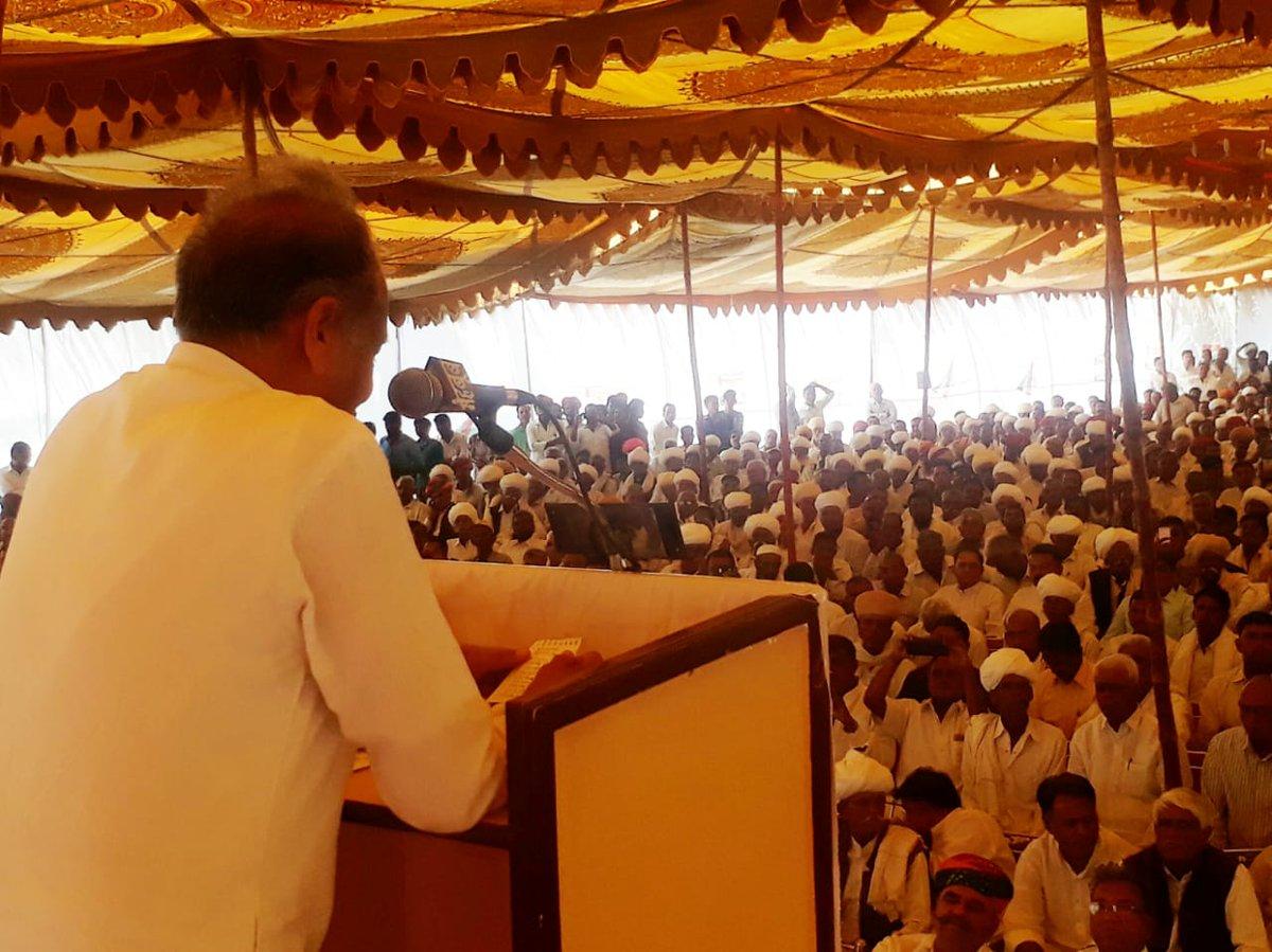 During #Diwali Sneh Milan Karyakram organised by #Jodhpur Dehat Congress..