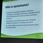 Image for the Tweet beginning: @raijaruusunen #ruralfinland muistuttaa ymmärtämään asiakkaan