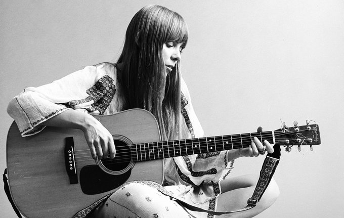 Mornings with Dave & CK 750 wishes Canadian legend Joni Mitchell a Happy 75th Birthday today!!