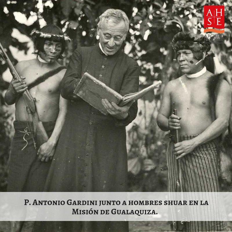 """Salesianos Ecuador on Twitter: """"#HistoriaSalesiana📜: El P. Antonio Gardini llegó al #Ecuador el 10 de enero de 1930 y en diciembre de 1934 inició su trabajo pastoral en la Misión de #Gualaquiza."""