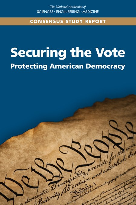 An important report on voting security by the National Academies has a succinct section explaining why blockchains and voting dont mix. Worth a read, on page 103. people.csail.mit.edu/rivest/pubs/NA…