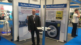 Come and visit us today and tomorrow at Stand 1414 at The Holiday Park and Resort Innovation Show. @HP_Innovation #BirminghamNEC #NEC #commerciallaundry