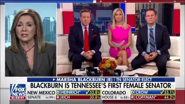 """.@MarshaBlackburn: """"We were committed to our message."""" @foxandfriends https://t.co/iSPHQowenr https://t.co/j0JKPUeiWr"""