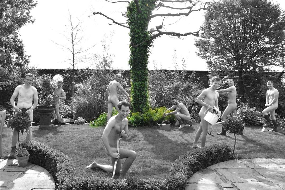 Suit up for world naked gardening day