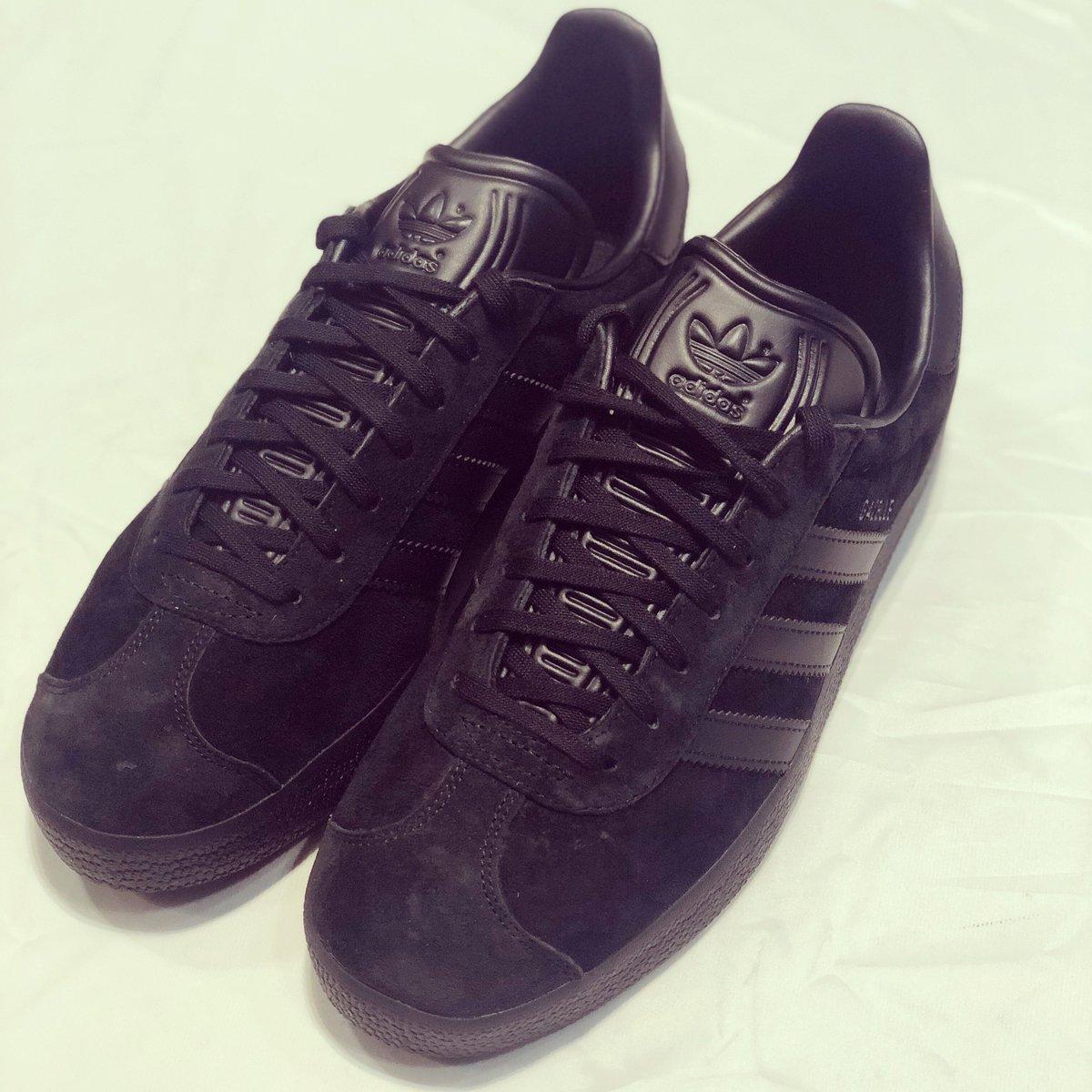blackout adidas Gazelle crafted