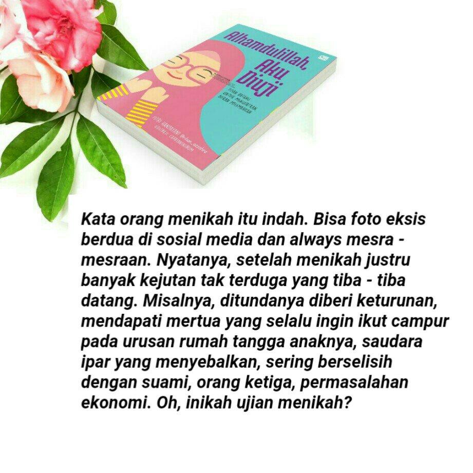 Rihan Azzahra على تويتر All About Book Alhamdulillah Aku