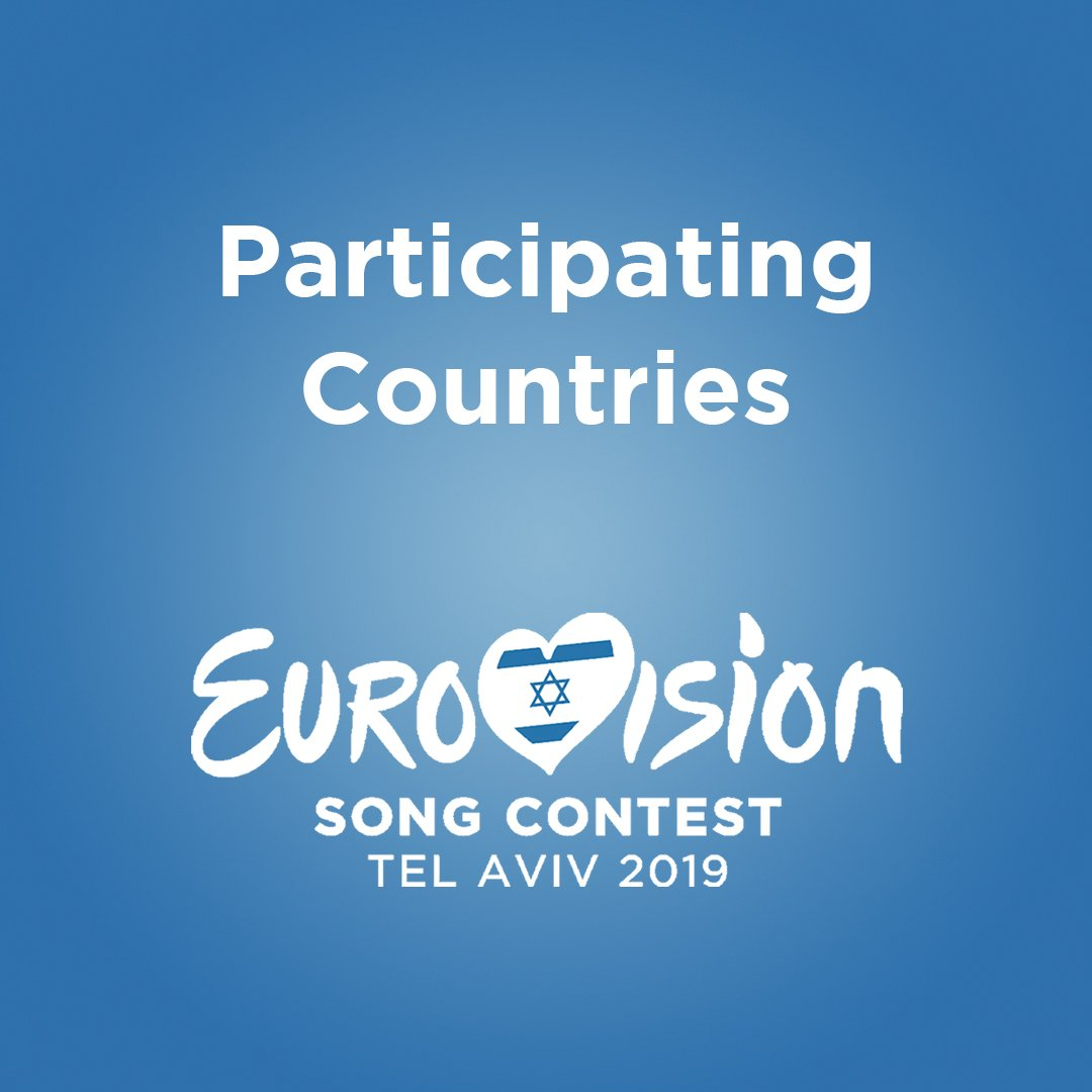 🎉 42 countries will #DareToDream in Tel Aviv for Eurovision Song Contest 2019!