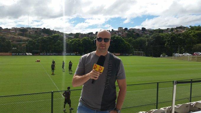 #98Esportes |@Igortep ao vivo direto da Cidade do Galo com as novidades do Atlético e acompanhando o treinamento do time, que encara o Palmeiras no próximo domingo. Sintonize ou acesse Foto