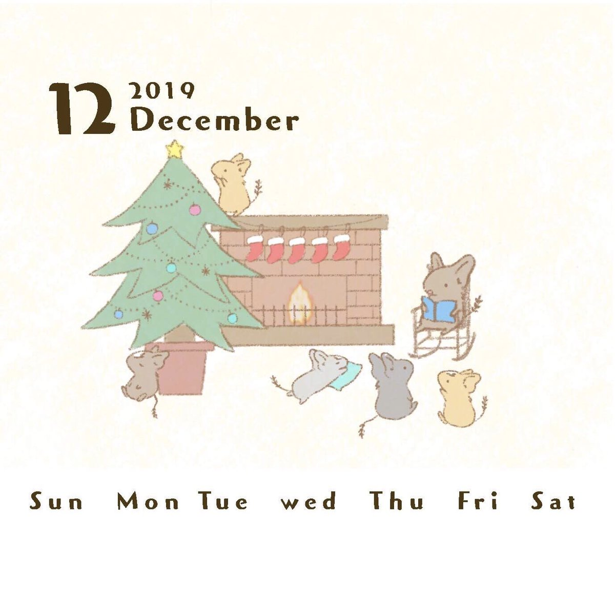 𝕟𝕒𝕟𝕒𝕟𝕠 10 11 高円寺cream委託参加中 على تويتر 12月カレンダーイラスト なんとかカレンダーの イラストは ほぼ完成 ˊᵕˋ 日付入れは神経使うからまた明日 デグー デグーカレンダー デグーイラスト