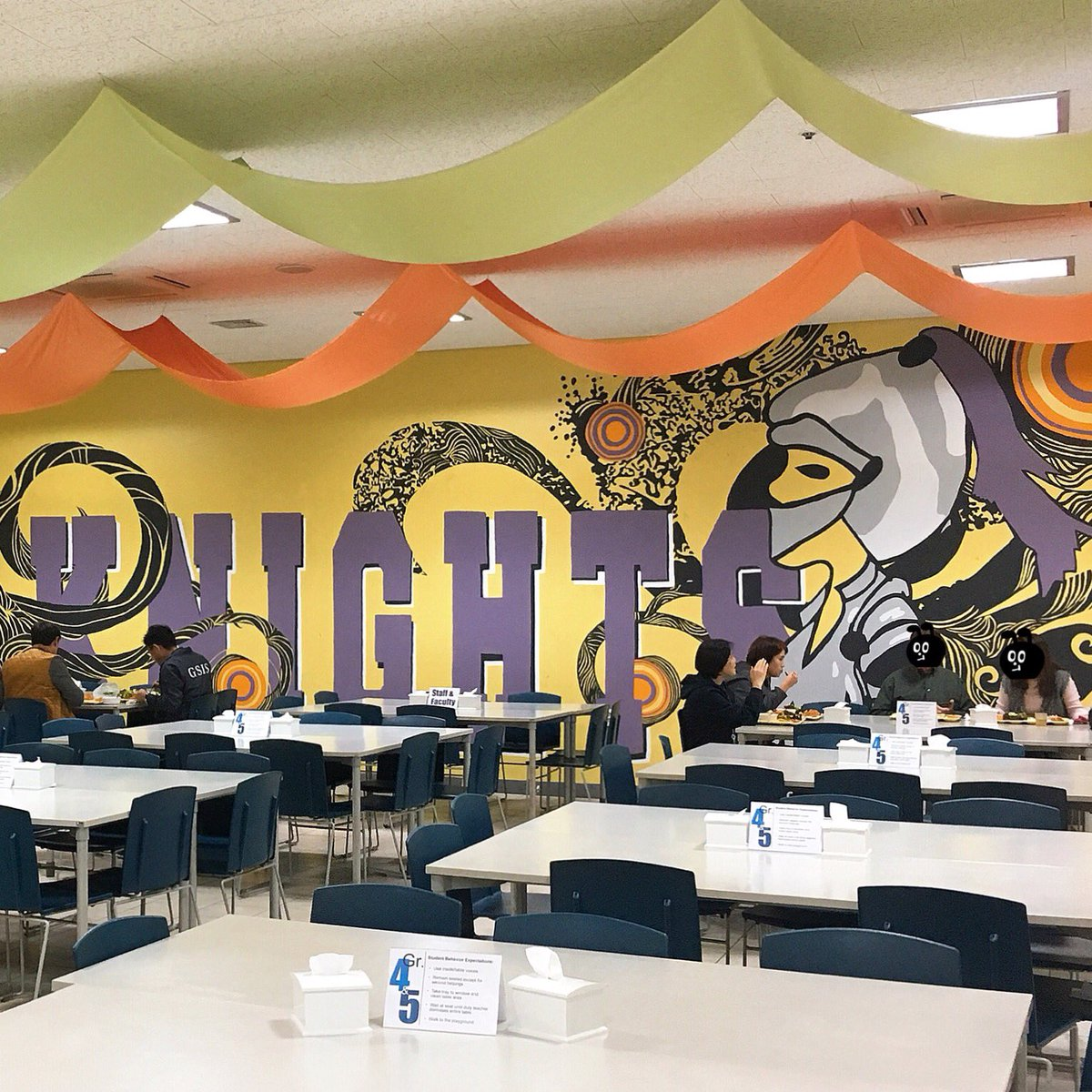 Once a Knight, always a Knight! @GSISKorea #KnightsROK #homeoftheknights #GSIS #fantastic #artwork #colorful #mural #imlovinit #예술이야 #좋다좋아 <br>http://pic.twitter.com/8O4IipzQOD