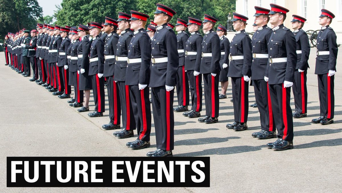 Sandhurst holds a range of events which are open to the public, from insight events to inviting schools to a Leadership training day. If youd like to hear more about these, please use the link below: bit.ly/2NsqbMD #sandhurst #RMAS