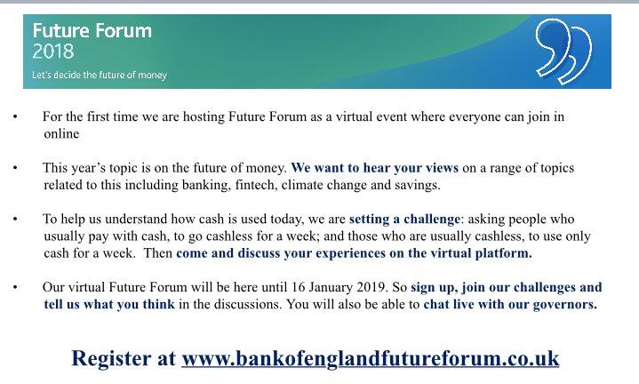 Bank of England CS on Twitter: