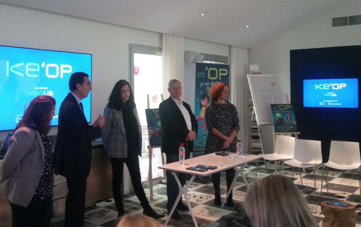 🔥🚘 Présents au lancement de KE'OP, le nouveau service de #mobilitépartagée à la demande de #Keolis, avec notre partenaire @KeolisBxMetro ! @BxMetro accueille la 1ère expérience du genre en France, déployée sur #Mérignac #LeHaillan et #Pessac ! >> https://t.co/T1naussGQe