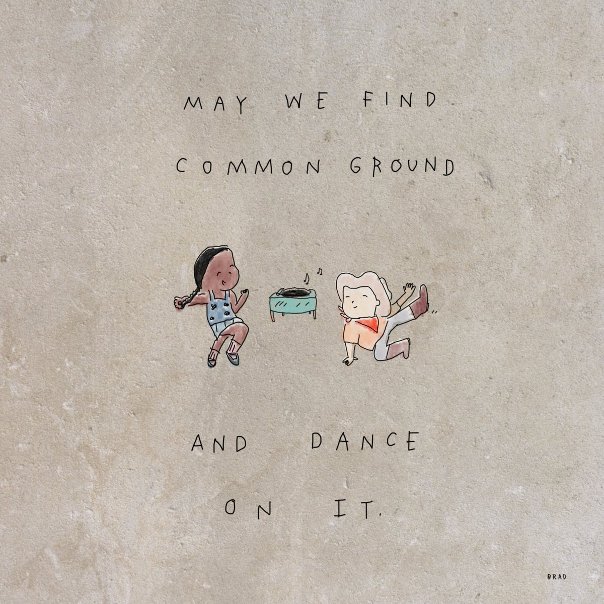 May we find common ground and dance on it. instagram.com/p/Bp4P0Bggs_P/