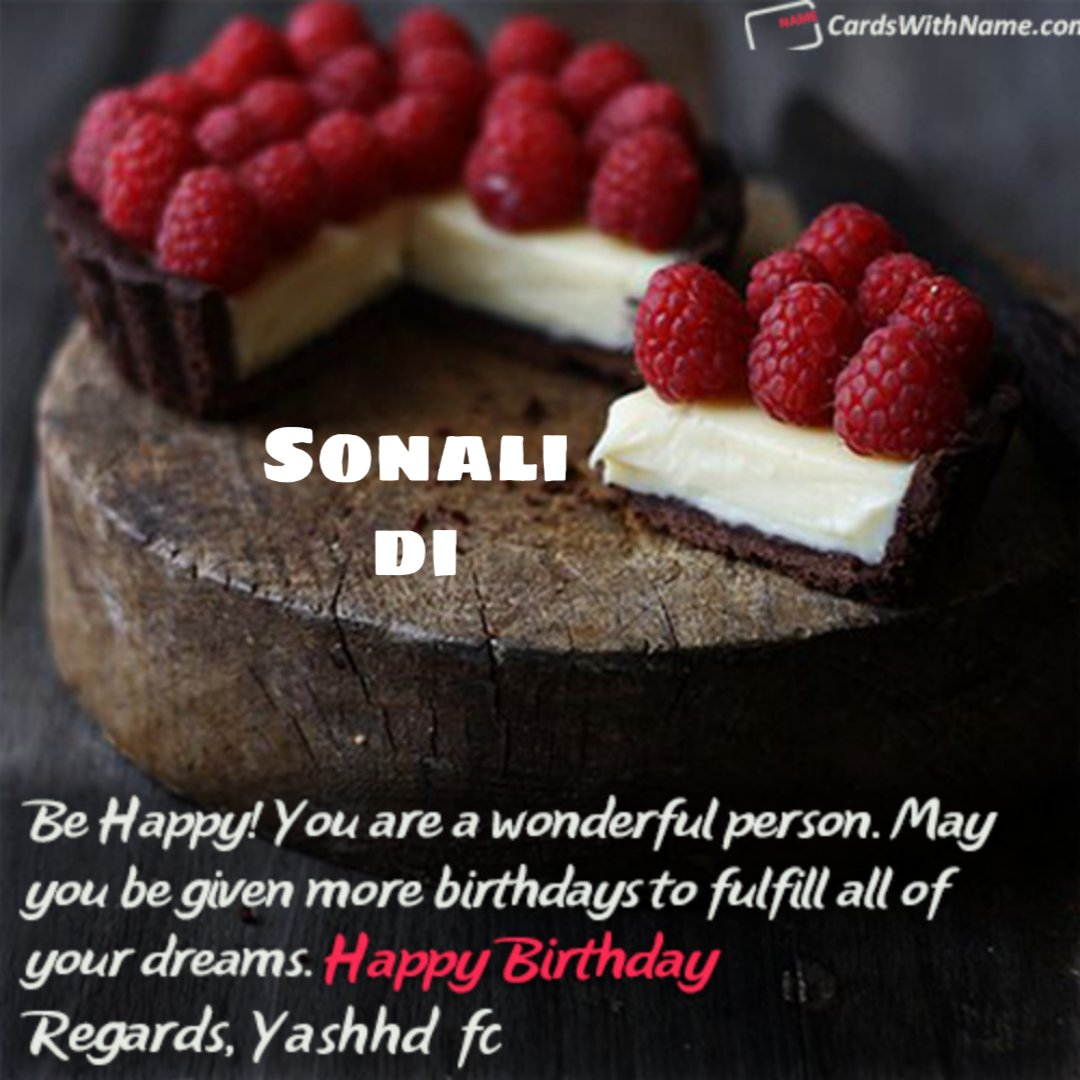 Yash Fc C On Twitter Dear Sonali Di Sonalinov Many Many Happy