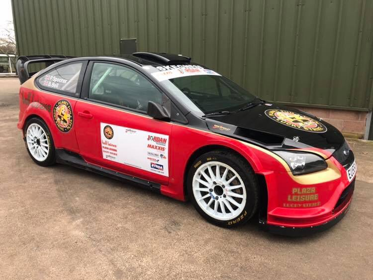 Dom Buckley Irs On Twitter Brian Bell S Ford Focus Wrc Ready For