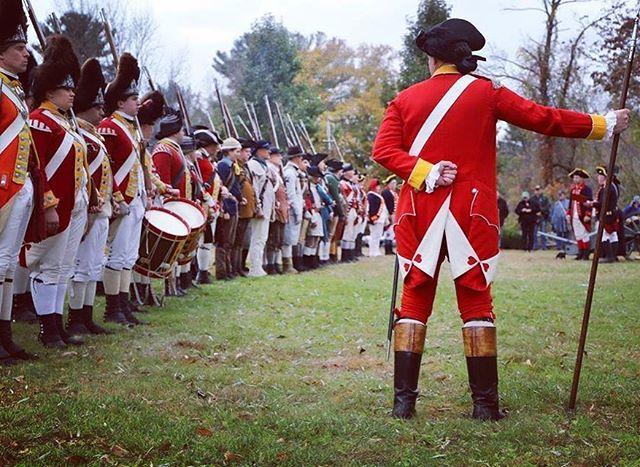 Even if we fight alongside or against the Kings troops we are all still friends #massachusetts #reenactment #revolutionarywar #patriots #officer https://t.co/9MuAuRZvBi