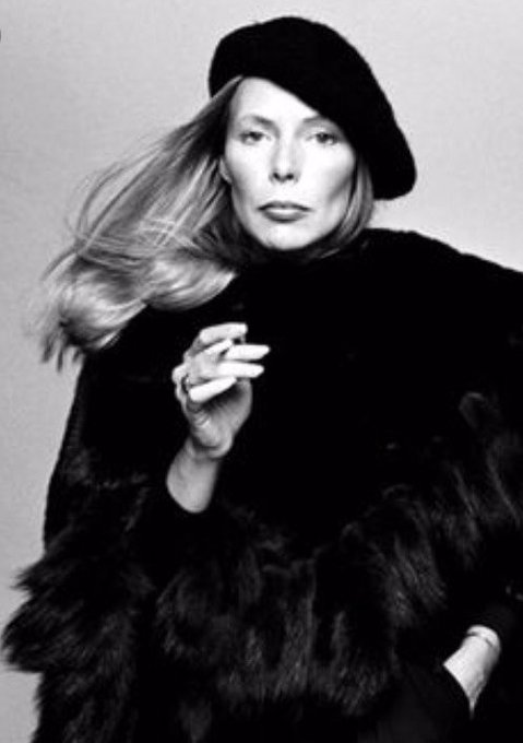 Happy birthday Joni Mitchell! Thank you for your music!