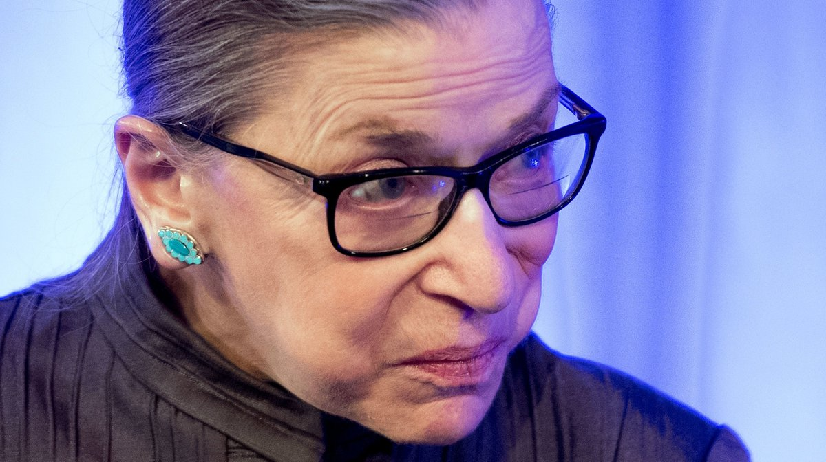 Ruth Bader Ginsburg back in her chambers, less than a week after fracturing 3 ribs https://t.co/UdoC5nxlzA