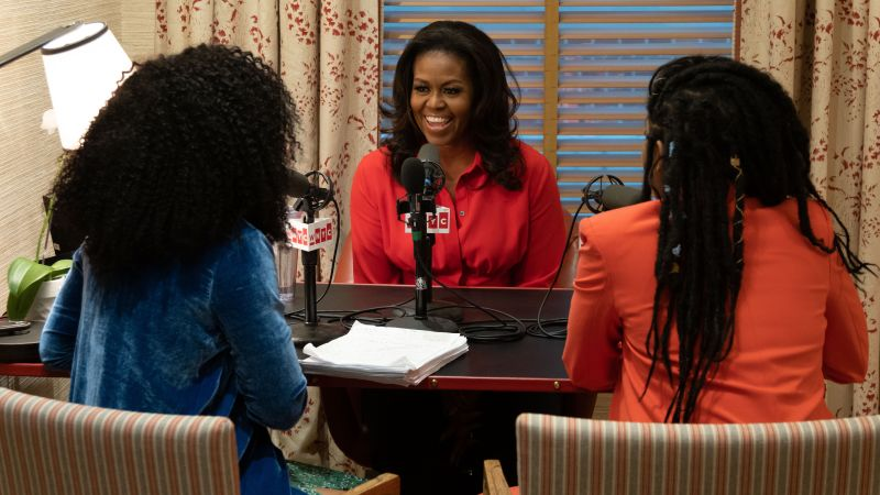 How do you end a highly successful podcast (turned HBO special) in a major way?!  If you're Jessica Williams and Phoebe Robinson of 2 Dope Queens, you interview the dopest queen around, our #ForeverFirstLady Michelle Obama: https://t.co/IHRnU7sAvf