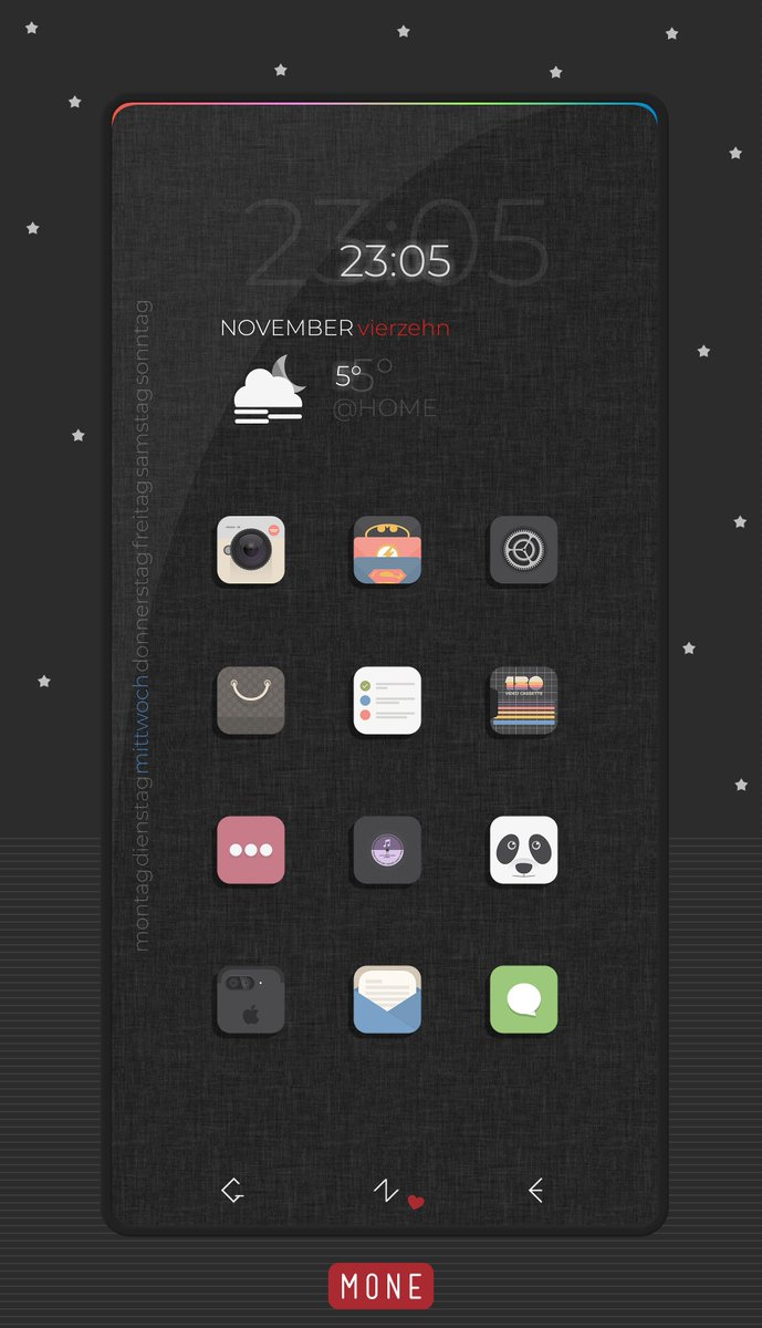 Last one .. Icons Next Flat by @paulebh0y  Otherwise everything selfmade <br>http://pic.twitter.com/GpHorOcGEX