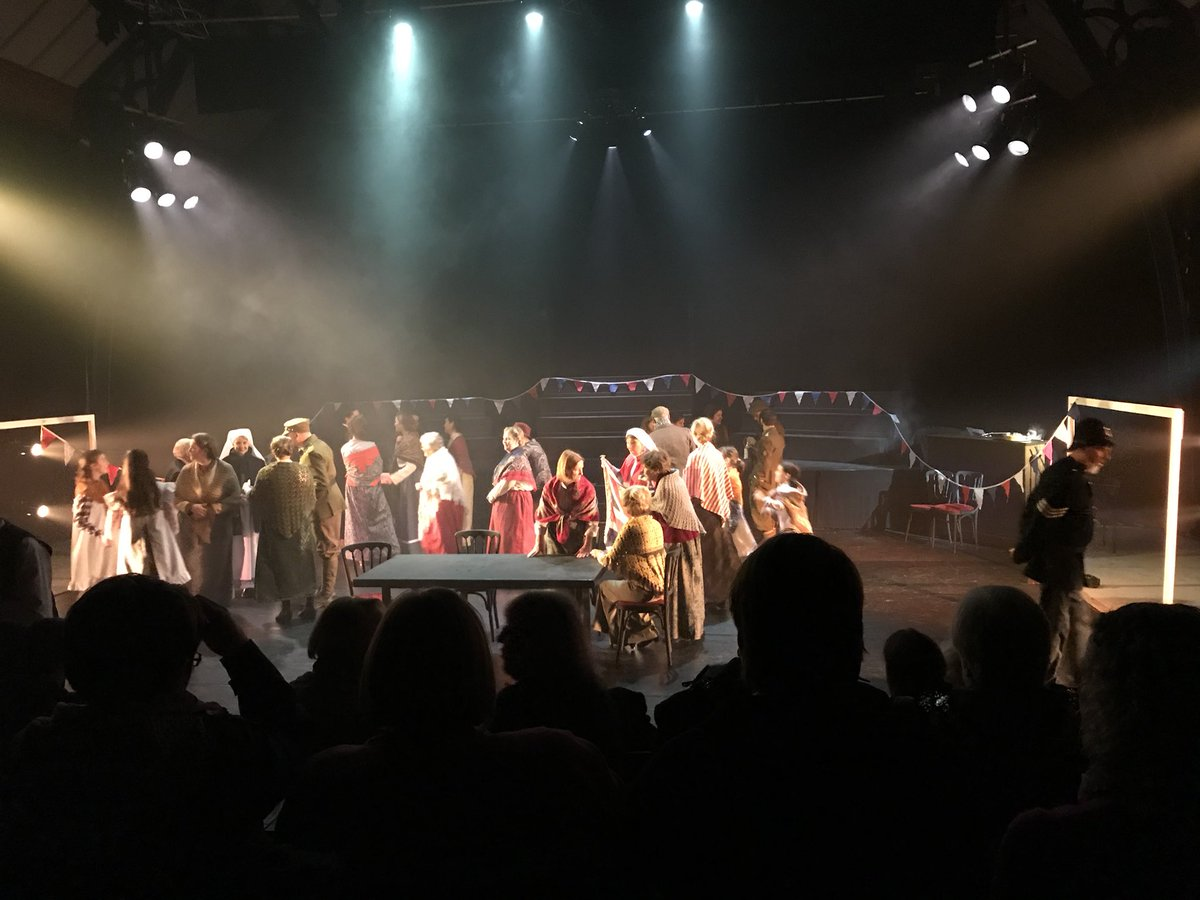 The curtain has just come down on the third of our six performances on #LoveTheatreDay #LoveTheatreDay2018. The World At Her Feet is community theatre at its best, written locally, rooted locally and in the very space it's being performed in @lincdrillhall - and v well received!<br>http://pic.twitter.com/I0W5AiXEkU