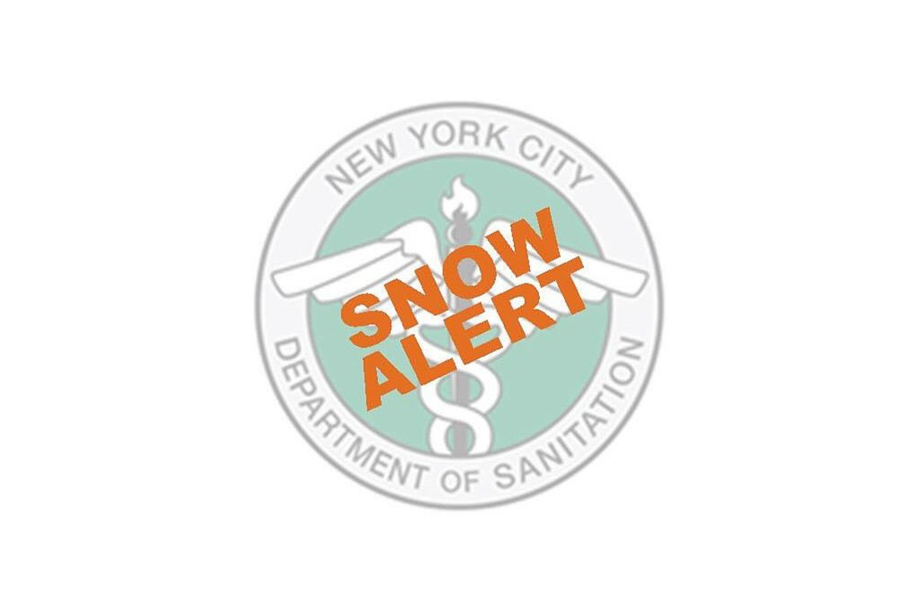 There's a good chance we're going to have our first snowfall of the season tomorrow. Crews at @NYCSanitation have issued a snow alert, and are ready to handle whatever happens. Please be prepared and exercise caution during your commute tomorrow.
