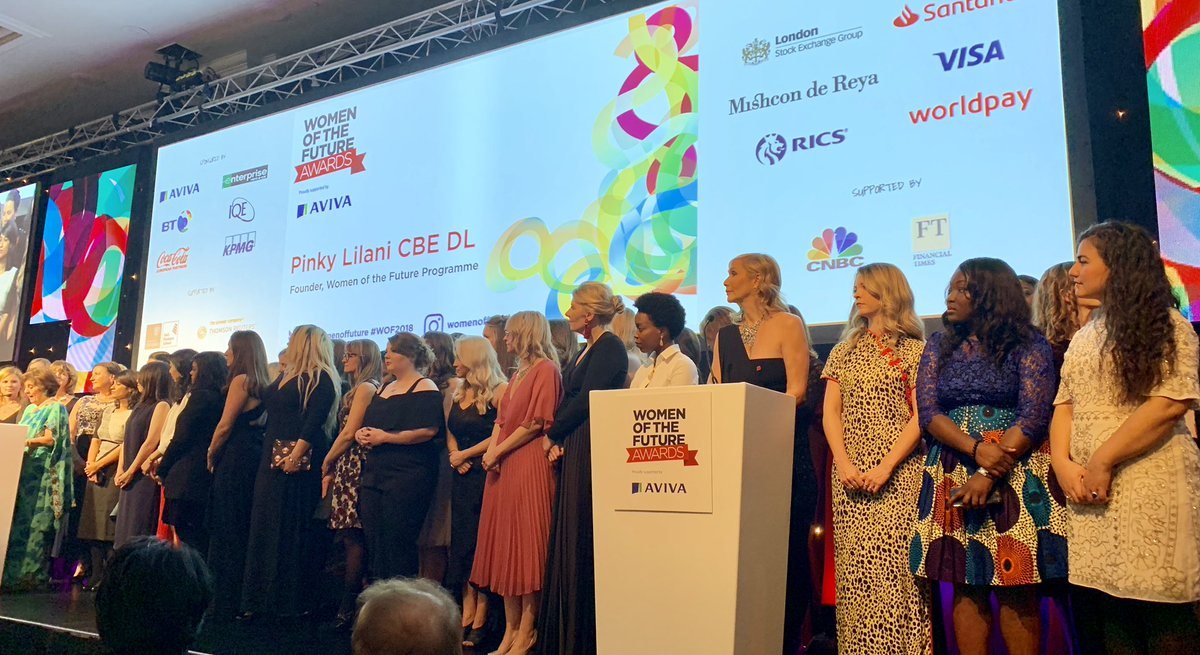 Congratulations to the inspiring candidates of the Women of the Future 2018 Awards, awarded under the patronage of Cherie Blair CBE QC and Chaired by Pinky Lilani CBE DL to recognise the amazing future women leaders in the UK. #WOF2018 <br>http://pic.twitter.com/T5RXVkxxPM