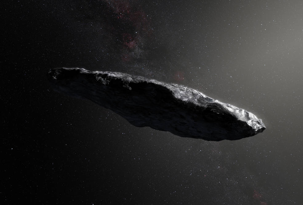Interstellar asteroid 'Oumuamua ☄ is small but reflective, according to new findings from scientists who pointed @NASAspitzer at the object. Its surface may have been swept free of dust and dirt by a close approach to the Sun. What we know: https://t.co/TqstZxYSjD
