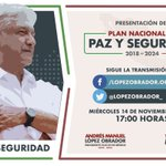 #PazYSeguridad Twitter Photo