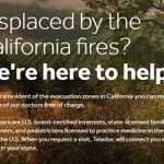 Image for the Tweet beginning: Impacted by the #wildfires? We're