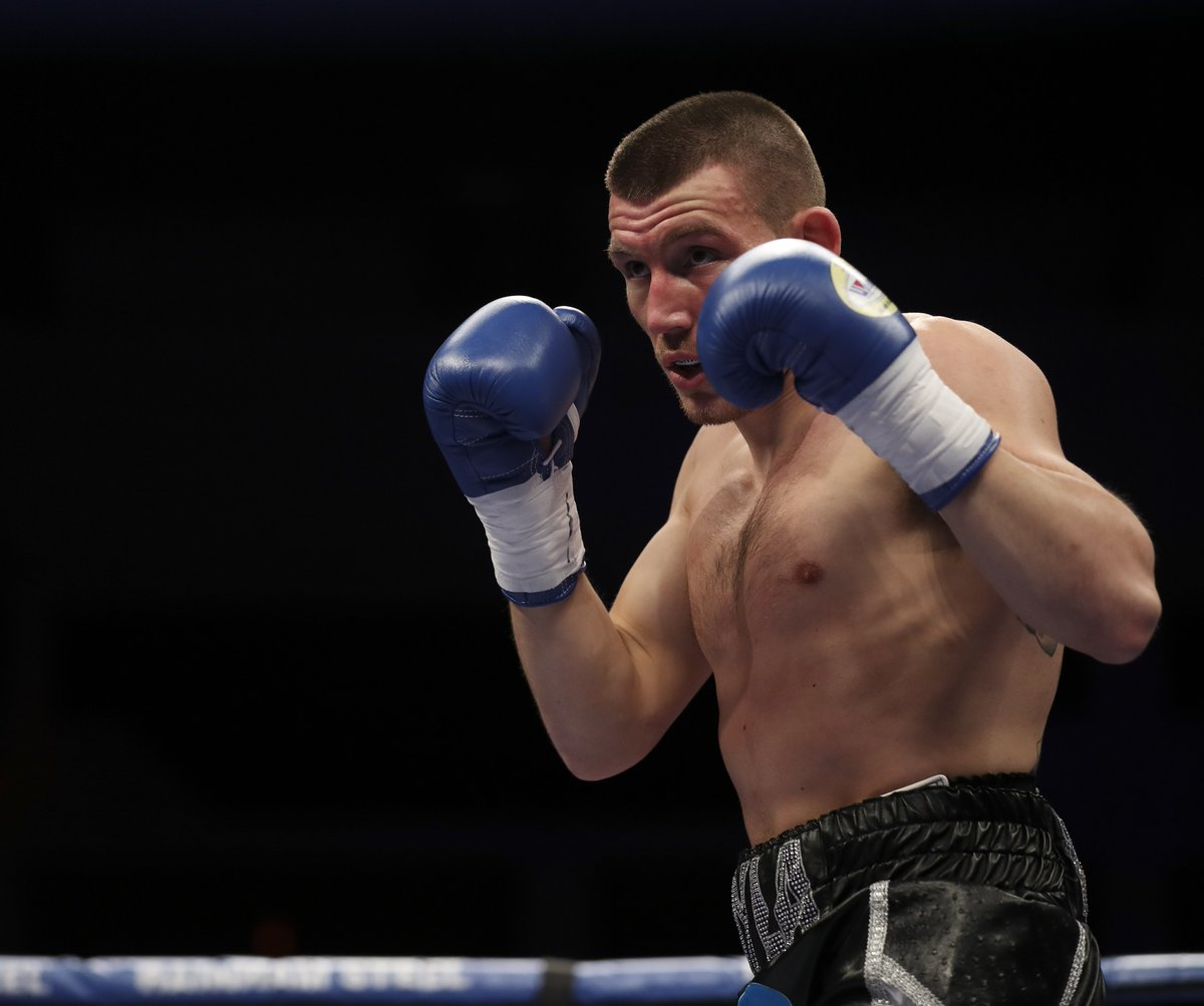One hundred per cent it is a bigger fight than I had lined up before - it is a cracking fight Welsh boxer @Liamwilliamsko will face Mark Heffron on the Warrington v Frampton undercard More: bbc.in/2DEQUoQ