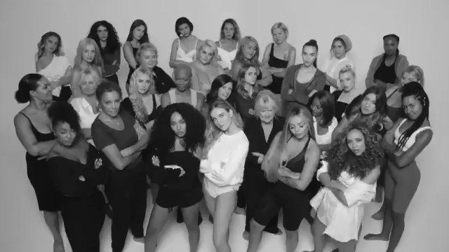 We've ❤ sharing these amazing women's stories & we have a surprise 👀 We invited them to be part of our #Strip music video cos this song is about empowering people to be who they are. Thanks @Rankinphoto for bringing our vision to life in partnership w/ @YouTubeMusic OUT FRIDAY!