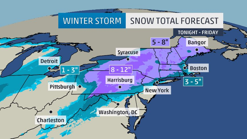 #WinterStormAvrey forecasts straight from our winter weather expert @TomNiziol !