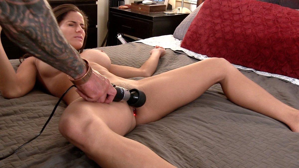 Hot girls vibrating panties and orgasm