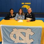 Image for the Tweet beginning: Congratulations!!!! Maddie Orobono @WCEaglesFH signs