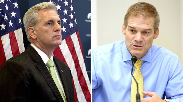 JUST IN: Kevin McCarthy elected House minority leader over Jim Jordan https://t.co/MDBOkLSs7g
