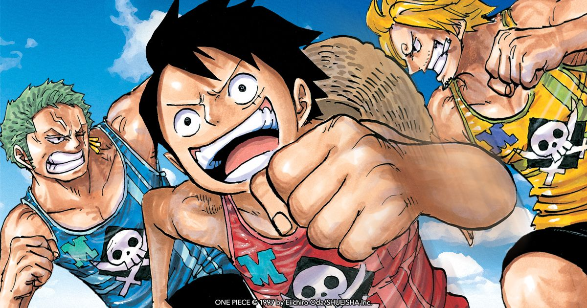The #OnePiece manga series is on sale now! Shop and get digital volumes for just $4.99 each. Sale ends November 19. buff.ly/2K4mBZ0