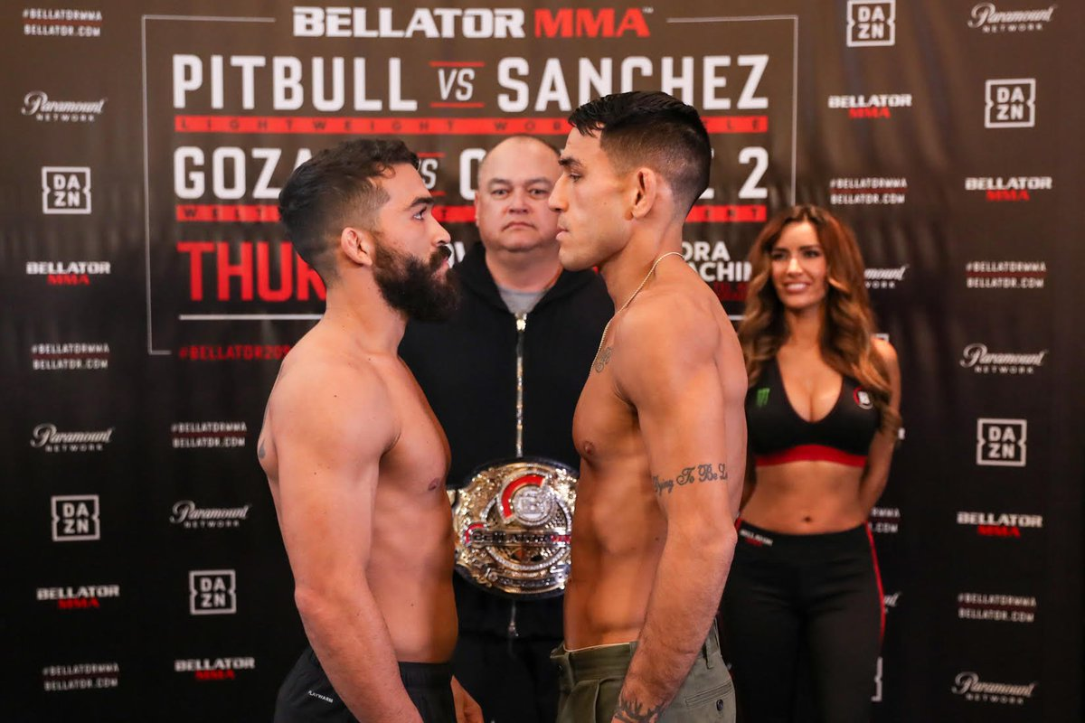 This weeks Bellator event in Tel Aviv is really under the radar, but its a good fight. Emmanuel Sanchez is legit and under-promoted. I cant even find betting odds, but I think hes a real challenge for Pitbull.