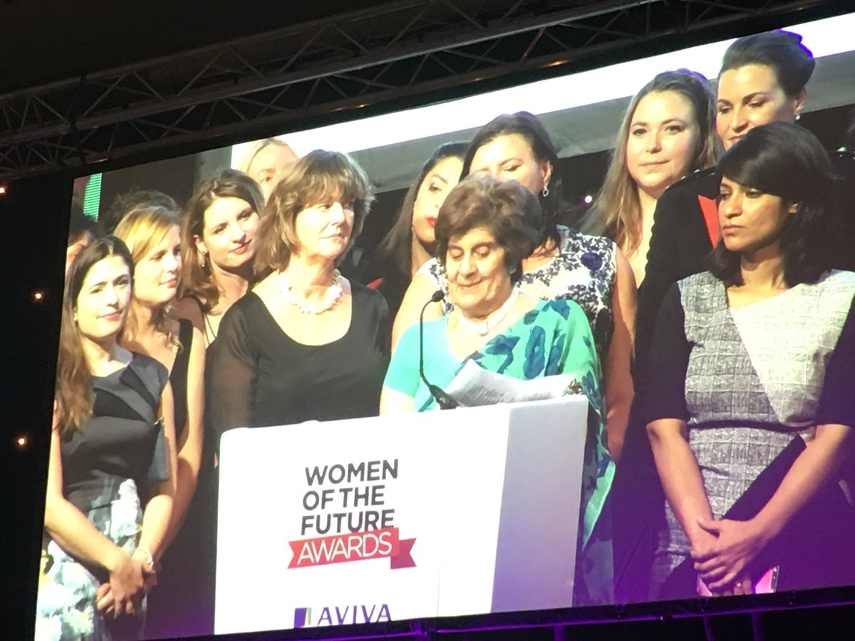A standing ovation for this amazing women, whose #kindness and #compassion has touched so many lives, she's a #GameChanger  @womenoffuture #WOF2018 <br>http://pic.twitter.com/1cs9OxxBQD